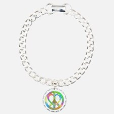 Peace Love Christmas Bracelet