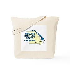 Missouri Bag Toss State Champ Tote Bag