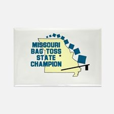 Missouri Bag Toss State Champ Rectangle Magnet