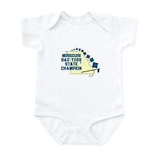 Missouri Bag Toss State Champ Infant Bodysuit