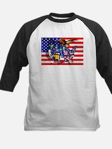 USA States Flag Tee