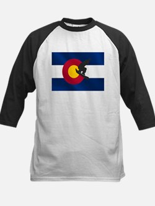 Colorado Snowboard Flag Tee