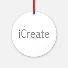 iCreate Ornament (Round)