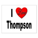 I Love Thompson Small Poster