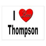 I Love Thompson Small Poster