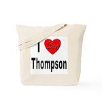 I Love Thompson Tote Bag