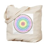 Rainbow Kaleidoscope Tote Bag