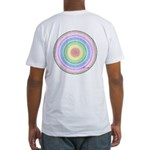 Rainbow Kaleidoscope Fitted T-Shirt