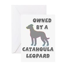 Catahoula Pewter Greeting Card