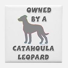 Catahoula Pewter Tile Coaster