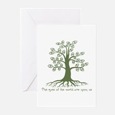Eyes of the World Greeting Cards (Pk of 10)