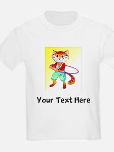 Cat Hula Hooping (Custom) T-Shirt