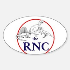 the RNC, dinosaurs Decal
