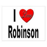 I Love Robinson Small Poster