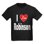 I Love Smith (Front) Kids Dark T-Shirt