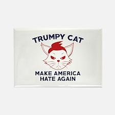 Trumpy Cat Rectangle Magnet