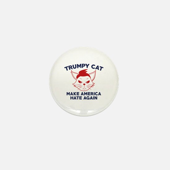 Trumpy Cat Mini Button