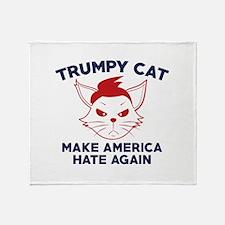 Trumpy Cat Stadium Blanket
