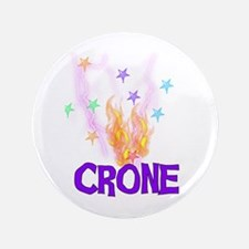 "Crone 3.5"" Button"