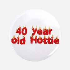 """40th Birthday 3.5"""" Button (100 pack)"""