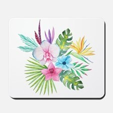 Watercolor Tropical Bouquet 3 Mousepad