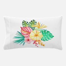 Watercolor Tropical Bouquet 6 Pillow Case