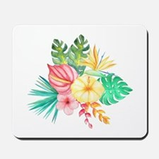 Watercolor Tropical Bouquet 6 Mousepad