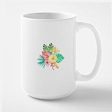 Watercolor Tropical Bouquet 6 Mugs