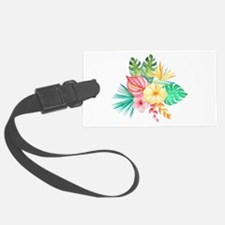 Watercolor Tropical Bouquet 6 Luggage Tag