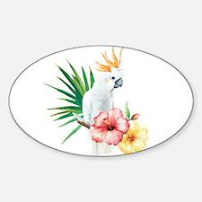 Tropical Cockatoo Decal