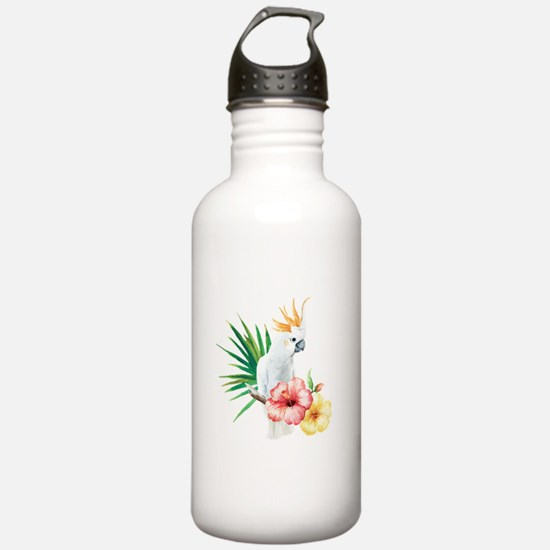 Tropical Cockatoo Water Bottle