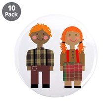 "Ann and Andy 2 3.5"" Button (10 pack)"