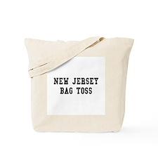 New Jersey Bag Toss Tote Bag