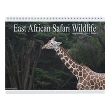 African Safari Wildlife Wall Calendar