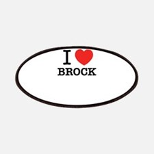 I Love BROCK Patch