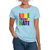 Love trumps hate Women's Light T-Shirt