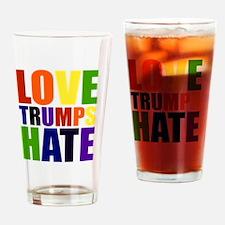 Funny Gender politics Drinking Glass