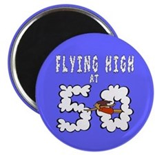 Flying High at 50 Magnet