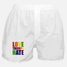 Love Trumps Hate Boxer Shorts