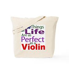 Perfect Violin Shirts and Gif Tote Bag