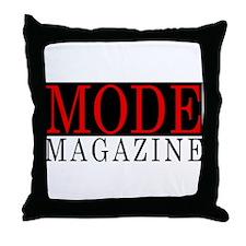 MODE Magazine Throw Pillow