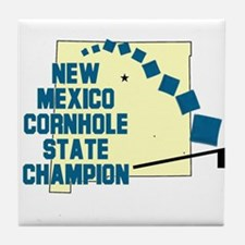 New Mexico Cornhole State Cha Tile Coaster