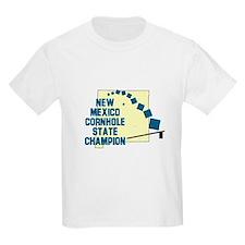 New Mexico Cornhole State Cha T-Shirt