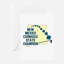 New Mexico Cornhole State Cha Greeting Cards (Pk o