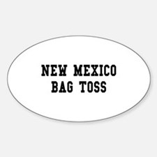 New Mexico Bag Toss Oval Decal