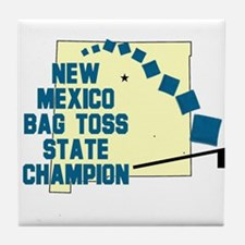 New Mexico Bag Toss Tile Coaster