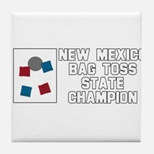 New Mexico Bag Toss State Cha Tile Coaster