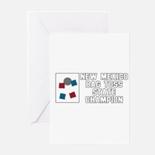 New Mexico Bag Toss State Cha Greeting Cards (Pk o