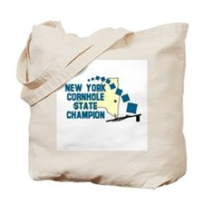 New York Cornhole State Champ Tote Bag