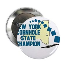 "New York Cornhole State Champ 2.25"" Button"